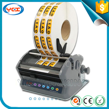 Automatic label dispenser, electric pvc label stripper machine, label peeling machine LSH-60/120/180