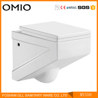 Chinese supply ceramic wall hung toilet