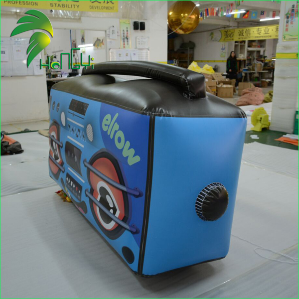 Popular Advertising Display Inflatable Sound Recorder Radio Replica Model