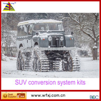 Tractor,Truck and SUV Rubber Track conversion systems/ SUV truck Rubber Track kits