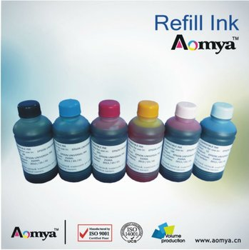 Aomya refill ink compatible k3 pigment ink for Epson Specialized ink