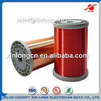 Solid Conductor Type CCA Wire Industry Application Enameled Copper Clad Aluminum Wire