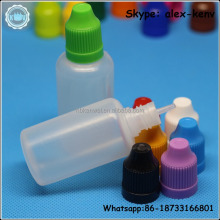 Shrink Film essential oil plastic bottle 20ml e liquids for cigarettes
