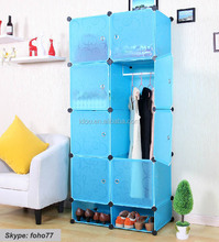 China Supplier DIY Magic Design Plastic Closet Storage FH-AL0530-8