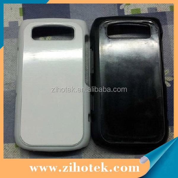 Blank sublimation cases for Blackberry 9700 with sublimation aluminum inserts