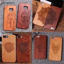 TOMOCOMO Game Thrones Natural Real Wood + Pc Case Para For iPhone 5 6 6 splus Vintage Case Cover Para For iPhone 8 8plus