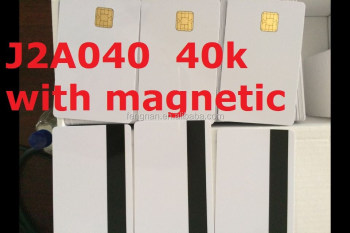 J2A040 40k smart card with Magnetic original chips