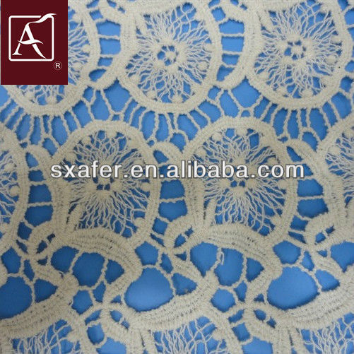 Water soluble embroidery fabric latest dress designs for ladies