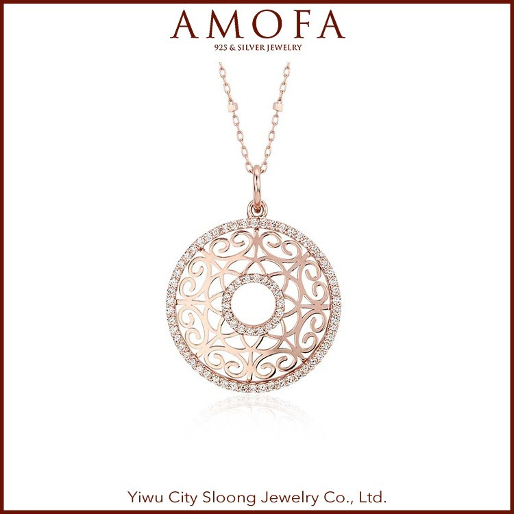 China Manufacture Professional Circle Pendant