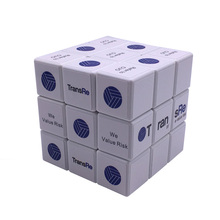 5.7cm Plastic Toys ABS Custom Magical Cube Promotion Puzzle Magic Cubes with Logo