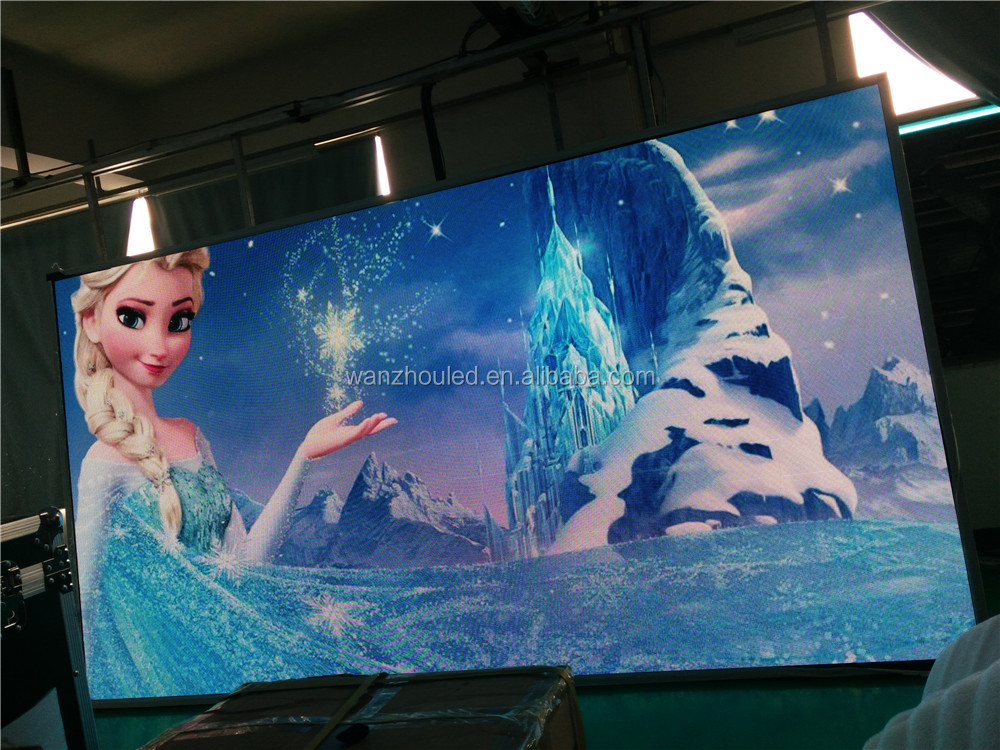 High Definition HD Enerey Saving SMD Full Color P7.62 Led Advertising Screen
