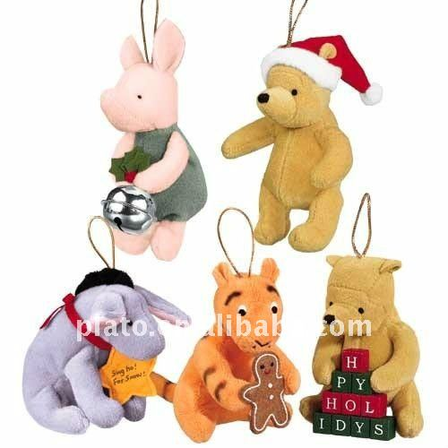2012 plush Christmas hanging ornaments tree toys