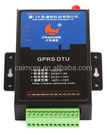 Affordable Robust m2m rs485 serial GPRS modem for Oil Level & Pressure Metering
