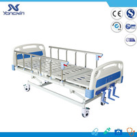 YXZ-C-002 Three function home and hospital super low care bed