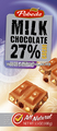 milk chocolate nuts and raisins 27% cocoa