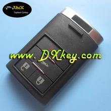 Best Quality universal remote control case for 3+1 buttons cadillac key cadillac key cover with emergency key