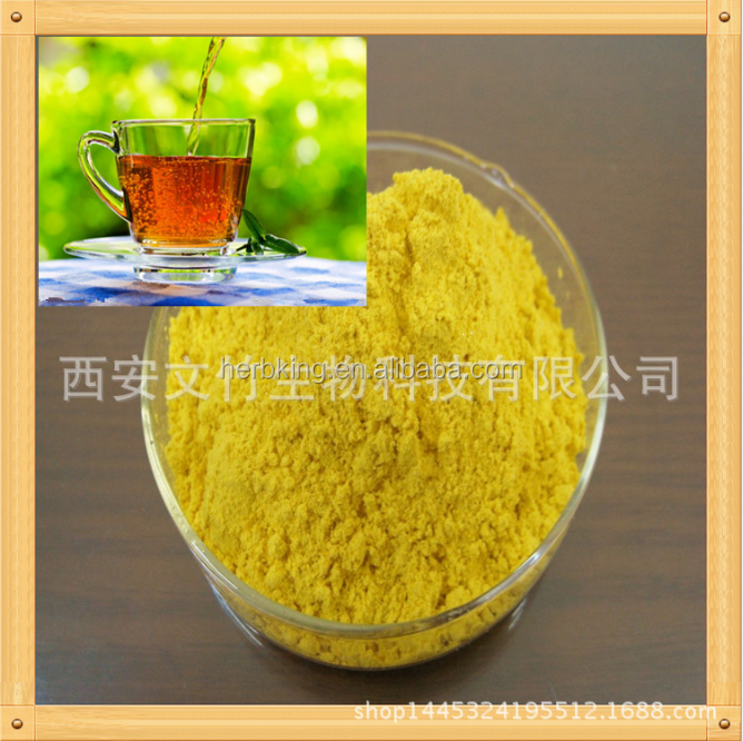 China pure natural plant extracts from black tea leaves