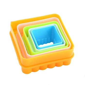 Latest product superior quality recyclable square cookie cutter