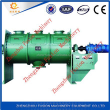 High speed double horizontal axles forced concrete mixer