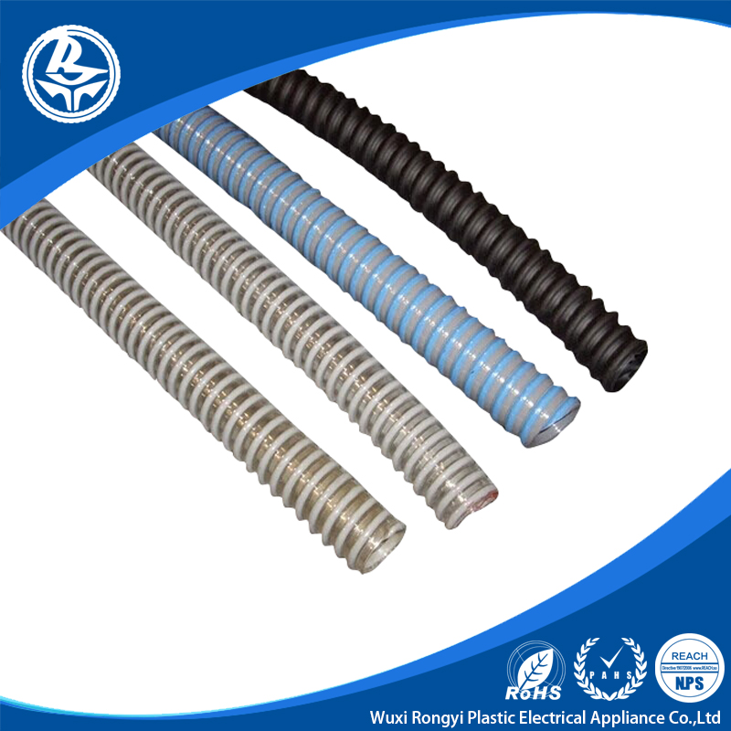 high quality spiral reinforced Flexible Pvc air duct hose