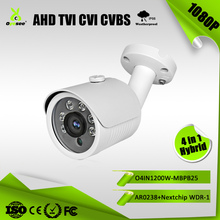 2MP WDR IR Range 25M IP66 AHD TVI CVI CVBS Hybrid 4 in 1 camera de surveillance en direct korean cctv manufacturer