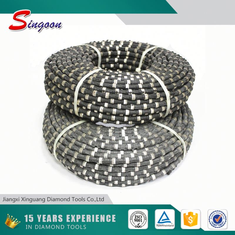 Diamond Wire Saw For Quarry Work,Diamond Chain Saw,Rubber Wire Saw For Stone Cutting