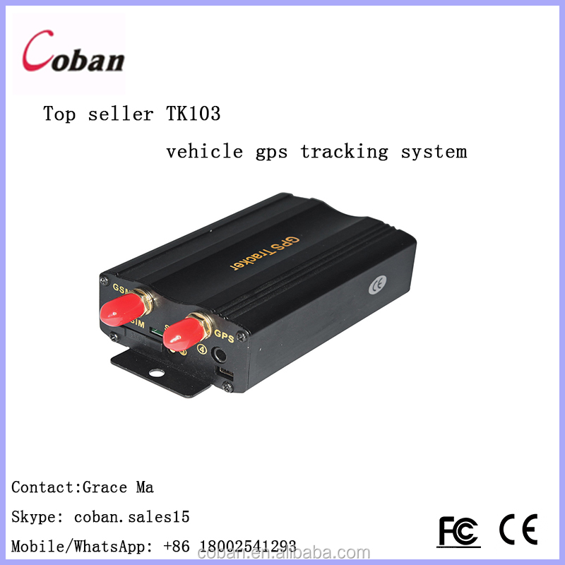 Mobile phone tracking equipment android & ios app tracking coban tk 103b car gps tracker with tcp mode