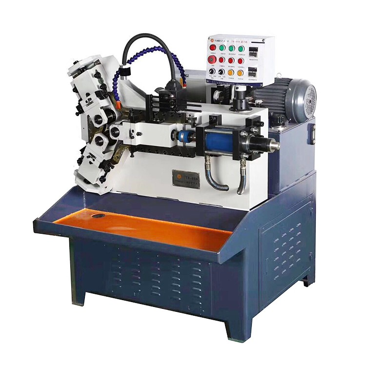 Auto three roller thread rolling machine pipe thread making machine TB-60A