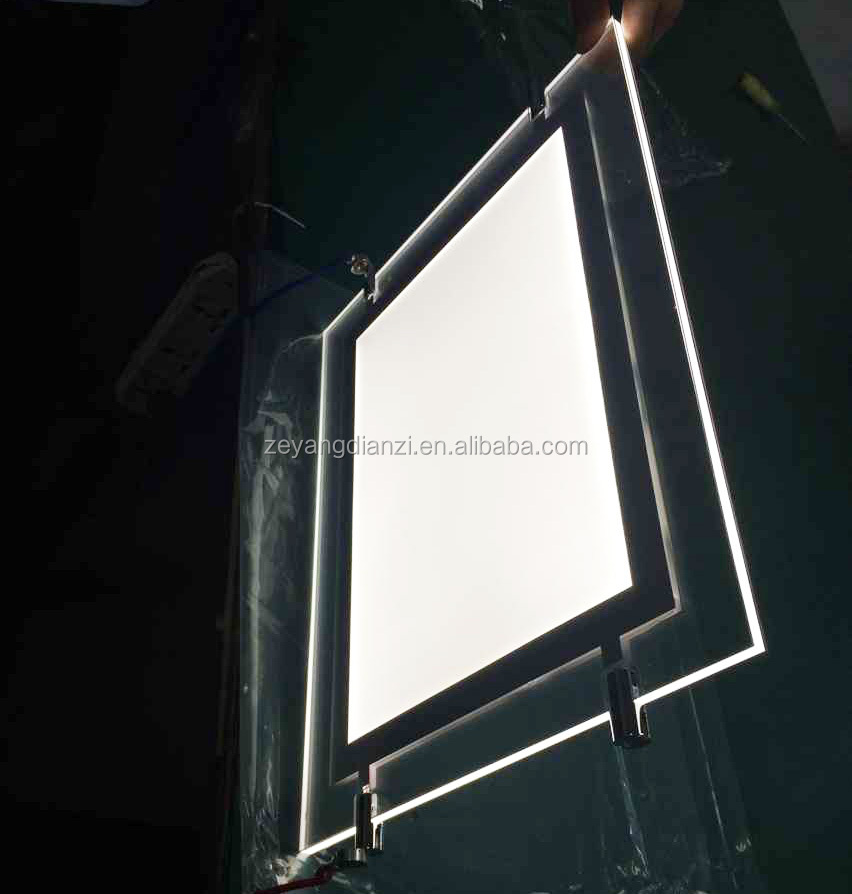 2017 New Stylish advertising light box real estate agent LED Window Display