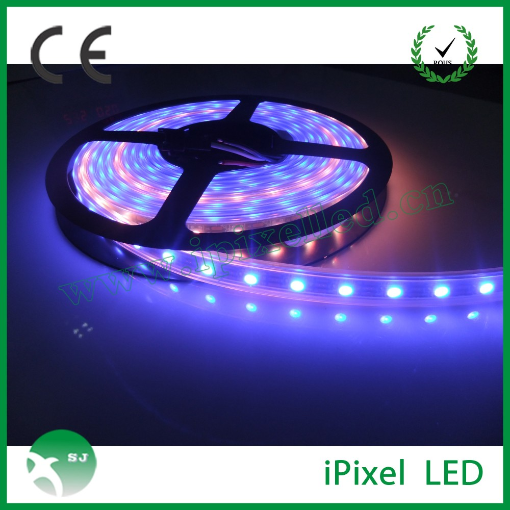 Christmas dream color 48leds/m rgb led strip light lpd8806 for DJ,night club,Bar and Disco