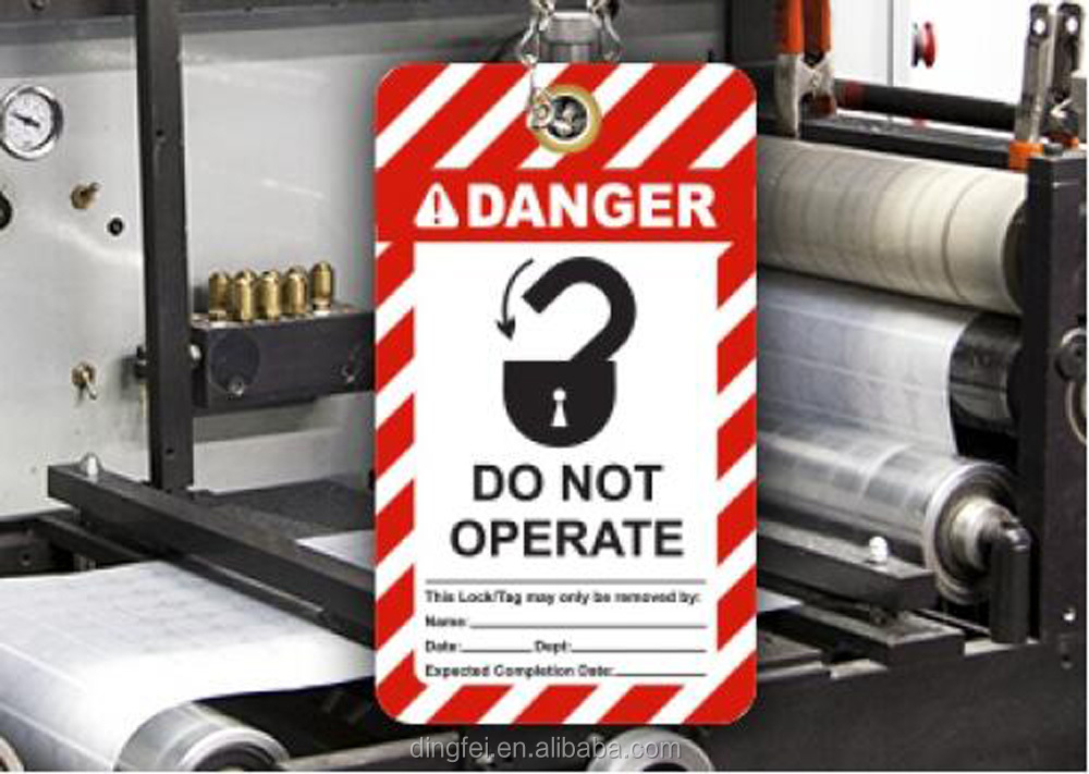 Customized Aluminium plate Reflective hazard warning signs for caution
