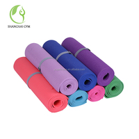 PVC +jute/Hemp Yoga Mat Private Label