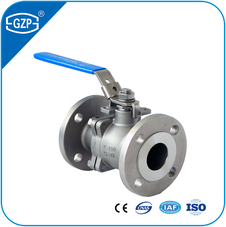 CF8M 150LB Floating Flanged Ball Valve