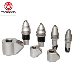 Construction machine foundation tools tungsten carbide cutter drilling picks