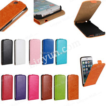 Hot sale PU Leather Supplier Flip Cover Case for iPhone 6/6S,For iPhone 6/6S colorful leather flip cover case