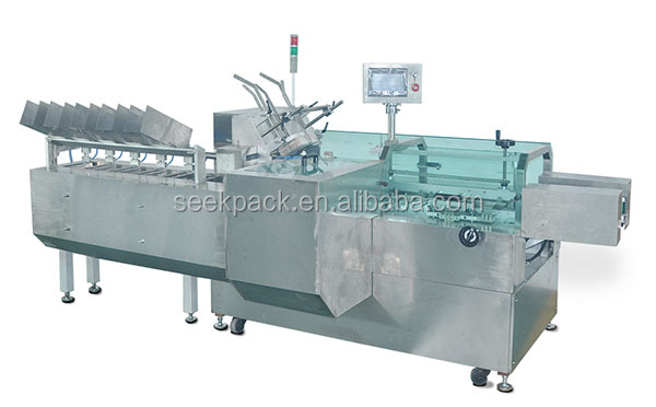 horizontal cartoner packaging machine pen ball pen box Automatic flat type carton packaging machine,for medicine,soft tubes,bli