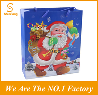 2016 Manufacture Christmas Packing Gift Paper Bag
