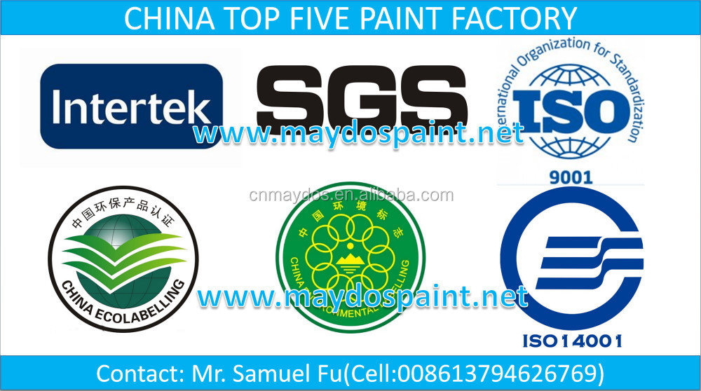 Maydos Eco-Friendly 2K Polyurethane Wood Paint For Furniture(China TOP FIVE Paint Supplier)
