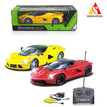 Super power 4 channel rc radio control car for kids play game toys