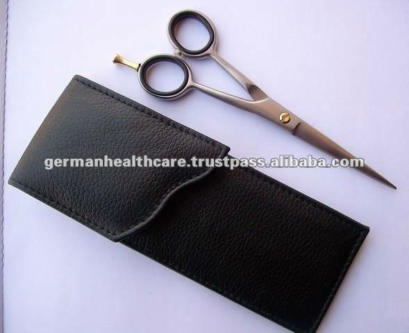 Hair Scissors Case for one Scissor made of Synthetic Leather
