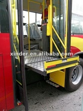 XINDER WL-STEP Series hydraulic tailgate lift for trucks Wheelchair Lift for Bus