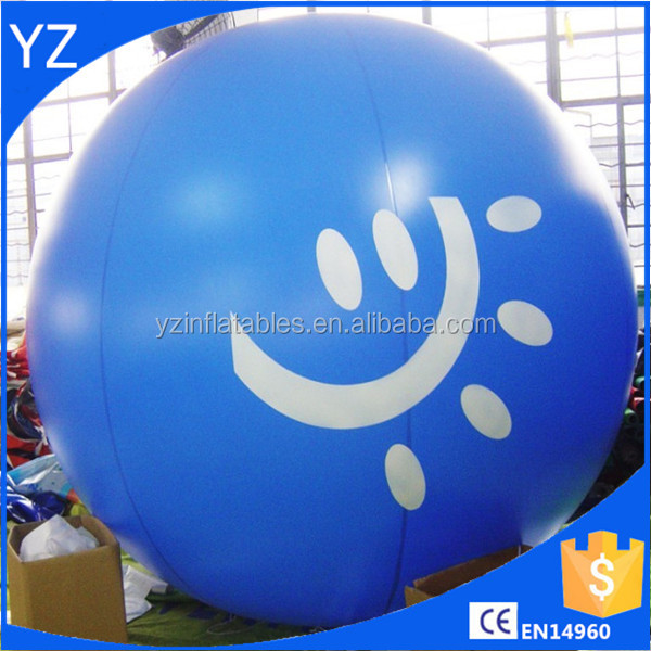 Best selling PVC inflatable helium sky balloon/large advertising helium balloons