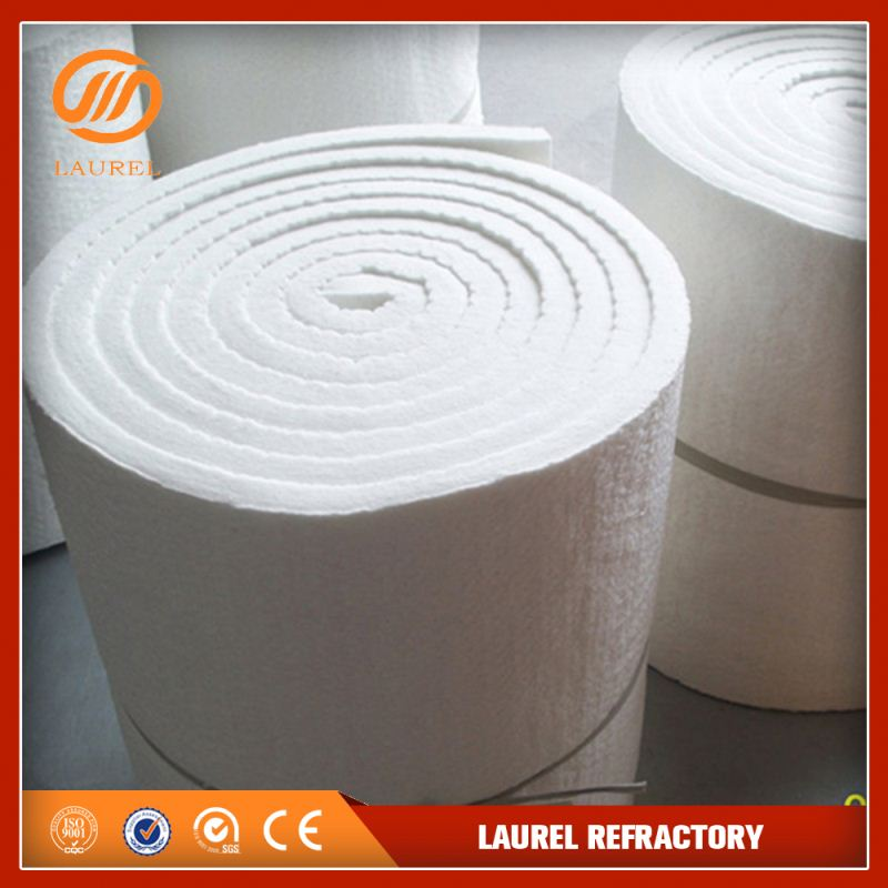 low conductive thermal mineral ceramic fiber blankets used on commercial pizza oven