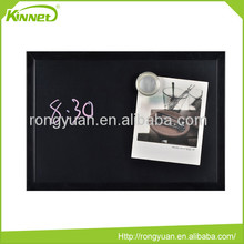 Home decoration magnetic portable use wood frame blackboard