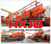 New Design Mobile Crushing & Screening Plants
