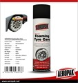 AEROPAK Free sample Foaming tyre care Car wash supplies foaming tyre care for car wheel
