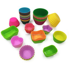 Professional Supplier Beautiful Silicone Cake Mould,Silicone Mini Muffin Cup Sets