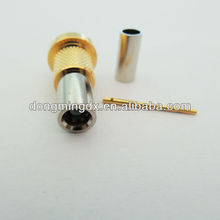 CRC9 striaght female RF coaxial connector 5# for mobile phone
