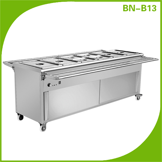 Cosbao CE approved stainless steel electric hotel banquet equipment (BN-B13)
