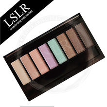Popular Longlasting Waterproof 8 Earth Tone Eye Shadow Shades Cheap Makeup Palettes